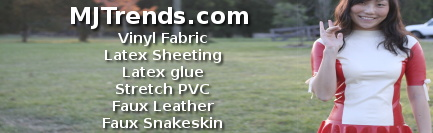 MJTrends: Vinyl fabric, latex, faux leather...
